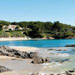 Côte d'Azur strand La Nartelle
