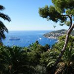 Côte d'Azur uitzicht