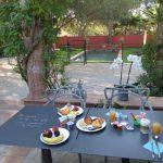 ontbijt Villa Cote d' Asoet