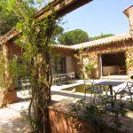 Villa Côte d'Asoet patio