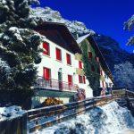 Hotel Au Bon Accueil winter